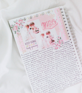 bts, diary and journal
