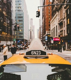 yellow, ny and taxi