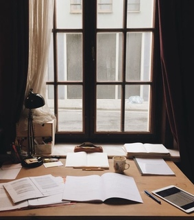 a, books and focus