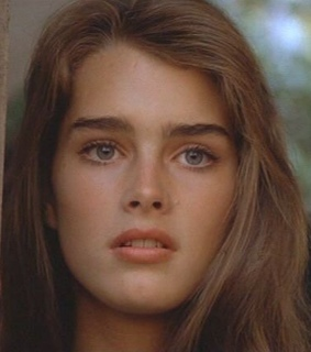 brooke shields, inspiration and face