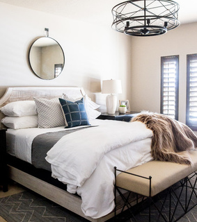 bedroom. interior, design and home