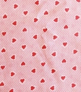 fabric, heart and hearts