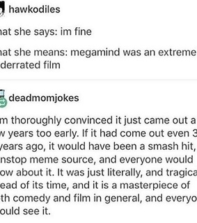 funny, hilarious and megamind
