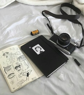 camera, pages and sheets