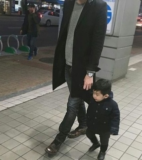 ulzzang, father and son