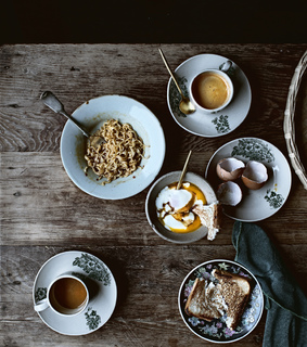 asian food, breakfast and brunch