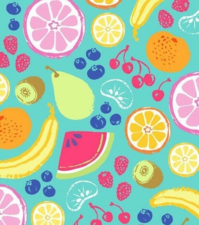 FRUiTS, background and banana