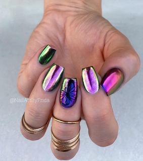 acrylic, beauty and gel nails