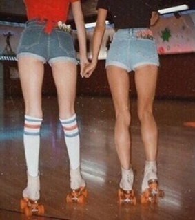 70's, rink and roller skating