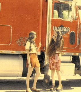 70's, girls and old
