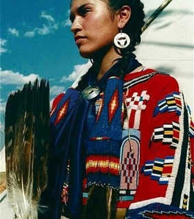 hair, feathers and indigenous