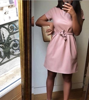 cuir, dress and girly