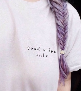 good vibes, braid and aesthetic