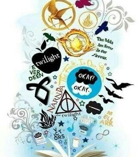 harry potter, percy jackson and twilight