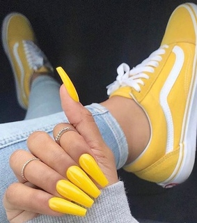 nails, old skool and hands