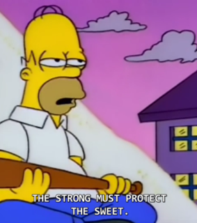 homer, tv and the simpsons