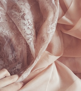aesthetic, fabric and hands