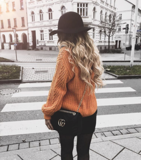 bag, blonde and curls