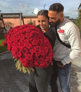 Relationship, couple goals and flowers roses