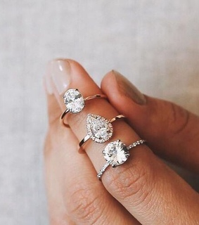 diamond, goals and rings