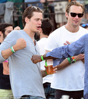 bill skarsgård, skarsgard and funny