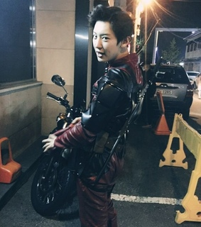 deadpool, chanyeol and cosplay