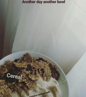 another day, breakfast and cereal
