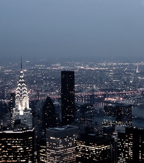 night, landscape and nyc