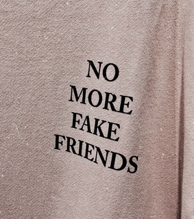 background, fake and friends