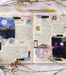 inspiration, notes and art