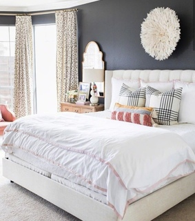 house, bedroom and style