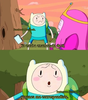 adventure time, desamor and finn