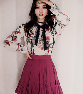 asian fashion, blouse and chlo.d.manon