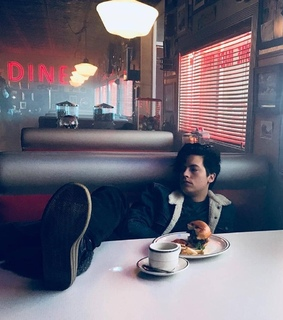 aesthetic, cafe and cole sprouse
