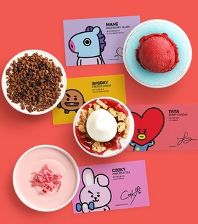 bt21, cooky and created by bts