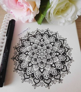 black and white, art and drawing