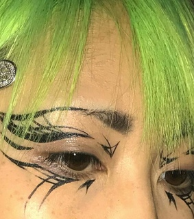 alternative, asian and makeup