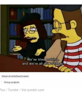 flanders, funny shit and projects
