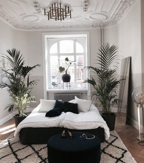 bed, decorations and home