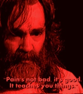 vhs, pain and evil