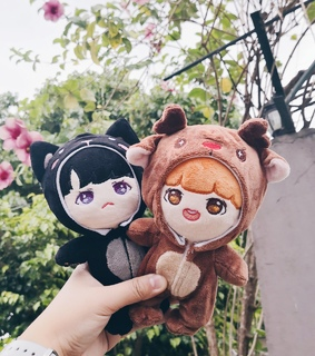 bts dolls, jhope and sope
