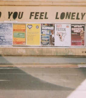 art, lonely and poem