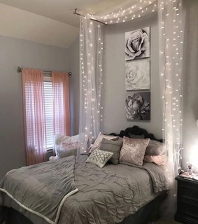 Blanc, Chambre and décoration