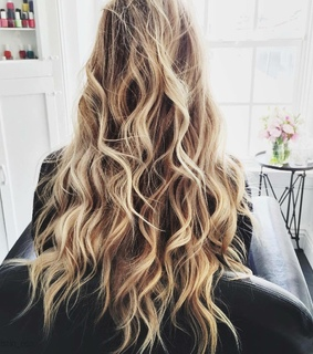 blonde, hairstyle and longhair