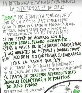 clases sociales, salud publica and aborto legal