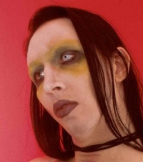 Marilyn Manson, babe and creepy