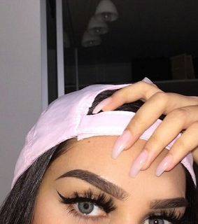 brows, cap and cute