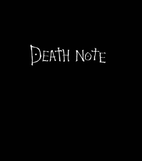wallpaper, black and death note