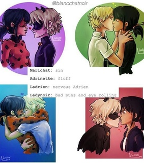 cute, Adrien and marichat