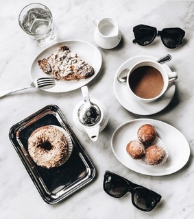 breakfast, coffee and luxurious